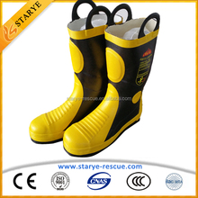 Made in China Multy Layers Fireman Protective Fire Boots
