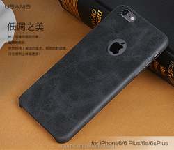 USAMS new design light leather back case Bob Series For iphone6s