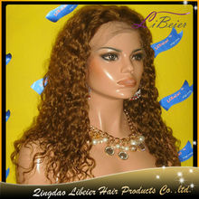 High quality best service color #4 22inch brazilian human hair,hair integration wigs