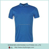 2015 Hot Sale mens dri fit polo /100% polyester polo t-shirt for golf