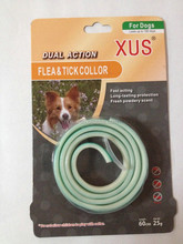 Flea Fresh Powdery Scent Tick Dog Collar retractable dog leash