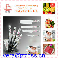 ceramic ziconia knife set environment-friendly SGS ceramic kitchen knife, zirconia ceramic knife sets, zirconia ceramic knife