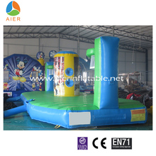 Team Arena Inflatable Bungee Basketball For Outdoor Activities