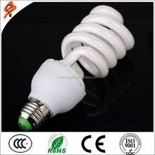 Home/office use half spiral energy saving bulb cfl light bulb with price