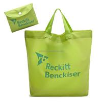 210D Nylon Foldable Tote Shopping Bags