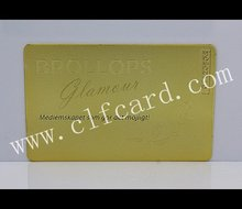 Super quality best sell high quality beautiful brass card