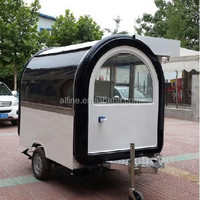 customized Fiber Glass Food Trailer with Awning