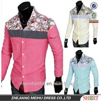 latest fashion hot sale african casual shirt