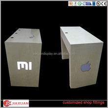 Cellphone display table mobile phone display table for retail shop