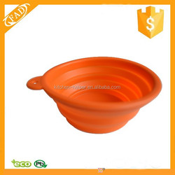 Top-selling Durable Silicone Novelty Collapsible Pet Feeder Bowl