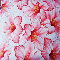 fashion lily promotion printed woven latex mattress ticking fabric/memory pillow case fabic for bedroom branch made in china