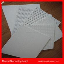 Mineral fiber acoustical suspended ceiling tiles
