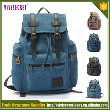 new products Canvas Backpack Rucksack Schoolbag storage