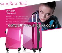 Aluminum frame suitcase/luggage with factory price.