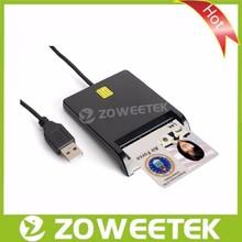 High quality USB 2.0 EMV Card Reader/Single Smart Card Reader Writer