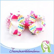 Girls Combination Double Hair Bow ,Polka Kids Ribbon Bow Hair Clip, Hairbows Hair accessories