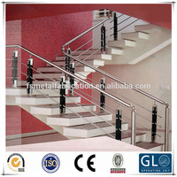 Modern and fashionable outdoor banisters and railings stainless steel railing
