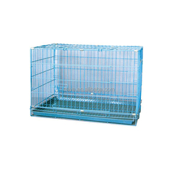 Large Steel Aluminum Plastic Welded Wire Dog Cage D701