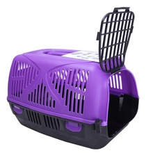 Wholesale China Factory Supplier Plastic Dog Carrier with Different Colors 6001