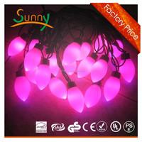 2015 NEW Rattan Ball LED Multicolor LED Ball String Light