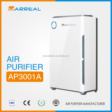 Portable Installation,Electrical Power ,activated carbon ,HEPA,ionizer home use air purifier with CE Certification