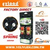 """[EZ LOAD] 1"""" Retractable Belts with Motorcycle Trailer Webbing Straps"""