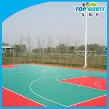 Synthetic basketball court flooring,basketball outdoor flooring,outdoor basketball flooring