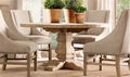 madeira moderna mesa de jantar e cadeira set