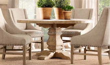 modern wood dining table and chair set