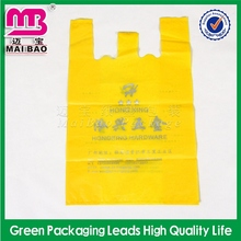 newest styling tshirt shopping bags on roll widely used