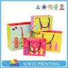 wholesale custom gift bags for colorful printing custom