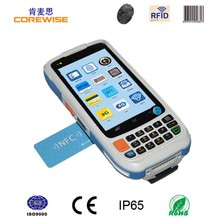 Android quad core rugged mobile barcode phone cheap nfc mobile phone