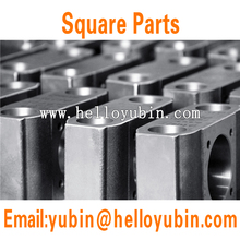 Customized CNC machining forging squre metal parts with ISO certificate