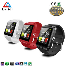 Wholesale touch screen ce rohs android bluetooth U8 smart watch cheap paypal