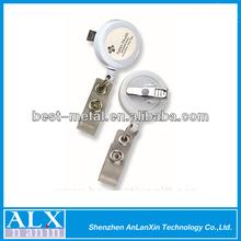Super quality 25mm mini revolve badge reel