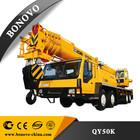 xcmg truck crane modelo qy50ka para venda