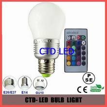 100-240v constant current driver 5w rgb led bulb