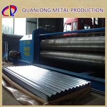 SGCC G90 Galvanized Zinc Barn Metal Roofing Materials