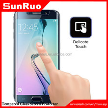 Prefect Size Japan Material Ultra Thin Ultra Clear TPU screen protector for Samsung galaxy s6 Edge