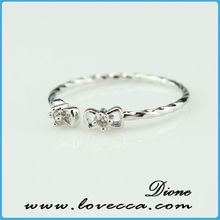 NEW ARRIVAL fashion hot sell shining fashion crystal diamond ring for girls