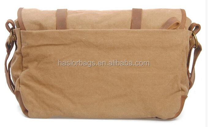 Blanc toile épaule Messenger sacs gros