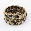 Negro serpiente tipo de circón joyería de aleación