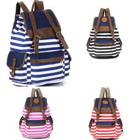 The navy style heavy duty canvas school bag manufacturer backpacks