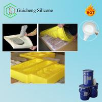 RTV silicone liquid for cement decorative concrete molds