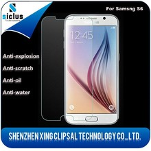 Free sample 0.33 2.5D 9h hardness anti-scratch tempered glass screen protector for samsung s6
