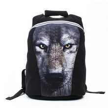 dog cool black backpack from Guangzhou