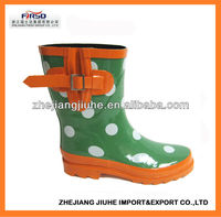 Polka Dot Ankle Wellies For Women