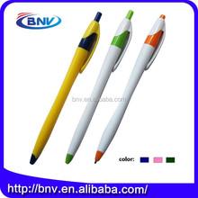 Best service OEM colorful plastic fine point ballpoint pens