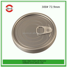 Canned food Sweet Corn Green Pea Lentils Dish 73 INSIDE GOLD/ OUTSIDE Gold color Tinplate lid cover