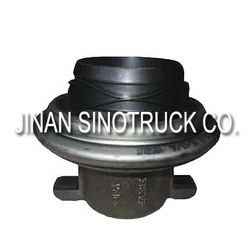Jinan provide original howo transmission parts : RELEASE BEARING WITH BRACKET WG9114160030